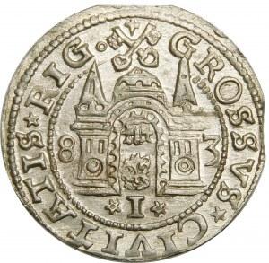 Stefan Batory, Grosz 1583, Ryga – okazowy