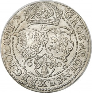 Zygmunt III Waza, Szóstak 1601, Malbork – rzadki i wyśmienity