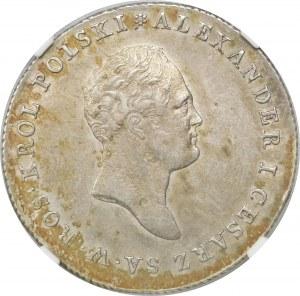 Królestwo Kongresowe, Aleksander I, 5 złotych 1816 IB, Warszawa