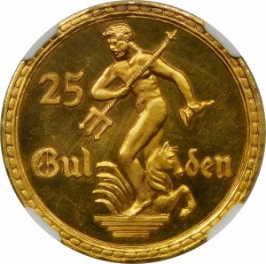 25 guldenów 1923 STEMPEL LUSTRZANY