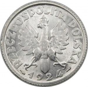 1 złoty Żniwiarka 1924 Paryż