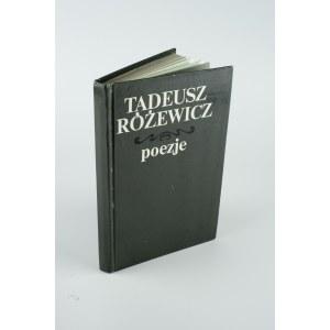 RÓŻEWICZ Tadeusz - Poezje [AUTOGRAF]