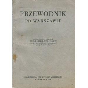 Przewodnik po Warszawie [pierwsza powojenna książka adresowa Warszawy]