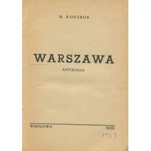 [druk konspiracyjny] Warszawa. Antologia [1943]