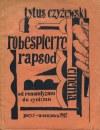 CZYŻEWSKI Tytus - Robespierre. Rapsod. Cinema. Od romantyzmu do cynizmu