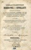 JÓZEFOWICZ Wincenty - Wykład praktyczny miernictwa i niwellacyi z wszelkiemi zastosowaniami do potrzeb gospodarzy wiejskich, tak pod względem urządzenia i podziału pól, jako też zaprowadzenia gospodarstwa leśnego, osuszania i zwilgotniania łąk i.t.d.