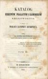 ŁĘTOWSKI Ludwik - Katalog biskupów, prałatów i kanoników krakowskich (4 tomy)