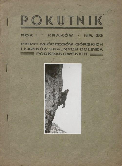 Pokutnik. Pismo Włóczęgów Górskich i Łazików Skalnych Dolinek Podkrakowskich. Rok I. Numer 2-3 (1944)