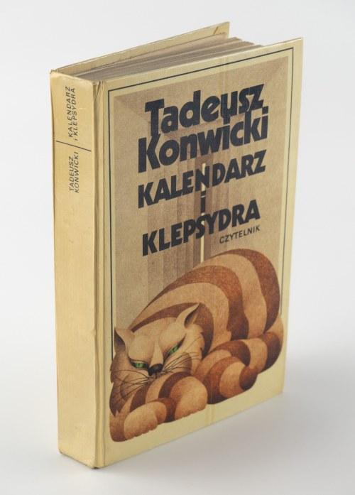 KONWICKI Tadeusz - Kalendarz i klepsydra [AUTOGRAF]