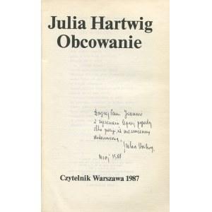 HARTWIG Julia - Obcowanie [AUTOGRAF]
