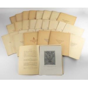 Silva Rerum. Miesięcznik Towarzystwa Miłośników Książki [ekslibrisy, oprawy, druki bibliofilskie]