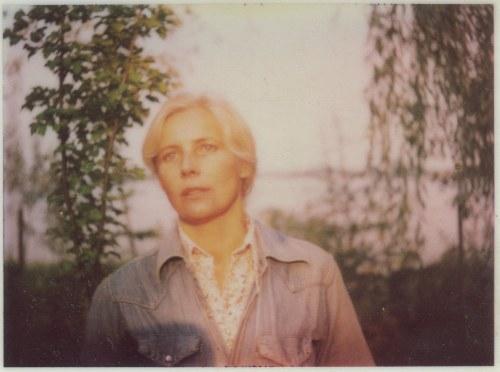 fotografia Agnieszka Osiecka [zdjęcie polaroidowe]