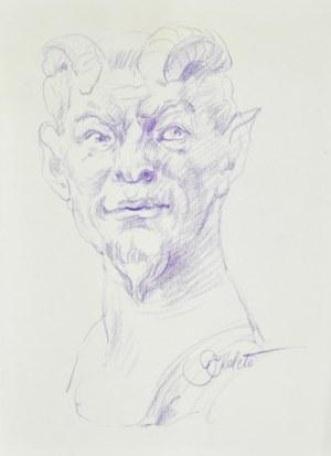 Dariusz KALETA Dariuss (ur. 1960), Popiersie stwora z rogami