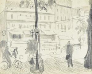 Stanisław KAMOCKI (1875-1944), Aleja Unter den Linden w Berlinie, ok. 1903?