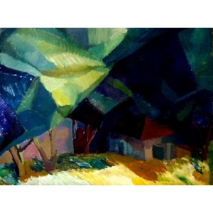 Mariia Drozdova, Evening Landscape