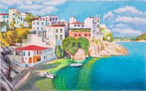 Bogumiła Ciosek (Ur.1938), Zatoka, 2020