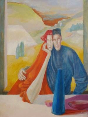 Małgorzata Fenrych (ur. 1964), Wazon niebieski, 2020