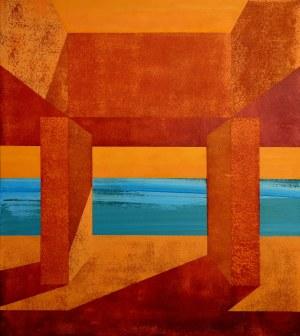 Andrzej Kikowski (ur. 1976), Yellow Sky, 2020