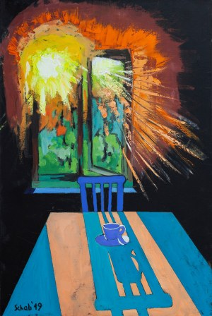 David Schab (ur. 1973), Poranna kawa, 2019