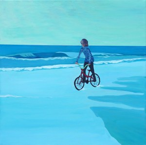 Paweł Świątek (ur. 1982), Bicycle On The Sea, 2020