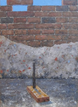 Jan Bembenista (ur. 1962), Magiczna cegła, 2020