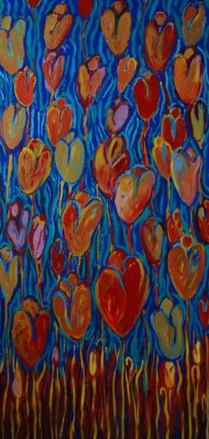 Beata Gaudy (ur. 1989), Tulipany. Południe, 2020
