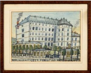 Nikifor Krynicki, Szpital w Krynicy