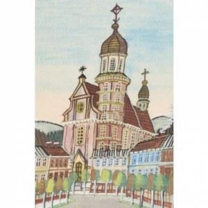 Nikifor Krynicki, Plac z kościołem