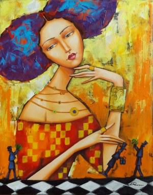 Alicja Ressa, Femme fatale