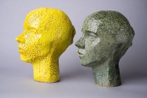 Jakub Niewdana, Ceramiczne głowy