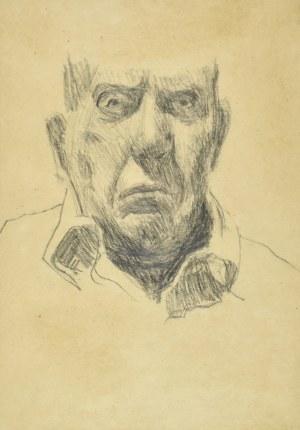 Stanisław KAMOCKI (1875-1944), Autoportret z fragmentem głowy