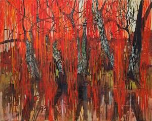 Jarosław Bednarz, Czerwone drzewa II, 2010