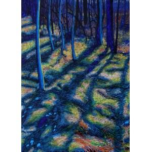 Angelika Mus-Nowak, Tym szerszym cieniem je drzewo obejmie, im dalej się od niego oddalą, 2020