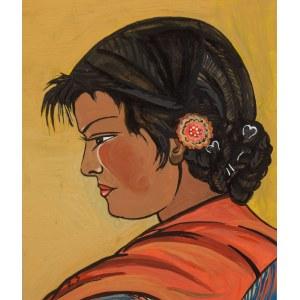 Zofia Stryjeńska (1891 Kraków - 1976 Genewa), Dziewczyna