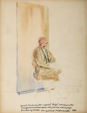 Rafał Malczewski (1892 Kraków - 1965 Montreal), Portret ojca