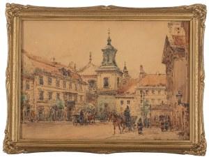 Władysław Chmieliński (1911 Warszawa – 1979 tamże), Kościół św. Jacka w Warszawie