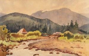 Tadeusz Nartowski (1892 Zręby k. Łomży - 1971 Szczecin), Pejzaż górski