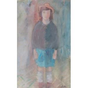 Zygmunt Landau (1898 Łódż - 1962 Tel Aviv), Portret dziewczynki, 1936 r.