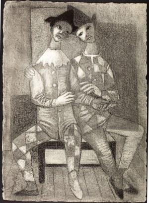 Jean Lambert-Rucki (1888 Kraków - 1967), Pieroci, 1934 r.