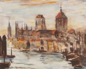 Stanisław Chlebowski (1890 Braniewo - 1969 Gdańsk), Nad Motławą