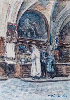 Tadeusz Cieślewski (1870 Warszawa-1956 tamże), Zachrystia na Jasnej Górze