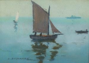 Antoni Suchanek (1901 Rzeszów - 1982 Gdynia), Polskie morze, przed 1934 r.