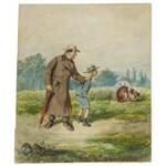 Kostrzewski Franciszek (1826-1911), Lekcja z zoologii I, 1887