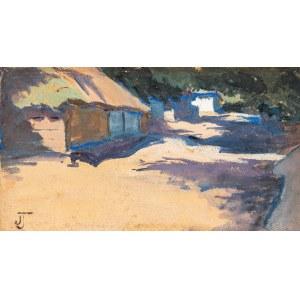 Tetmajer-Naimska Jadwiga (1891-1975), Cienie we wsi, ok. 1911