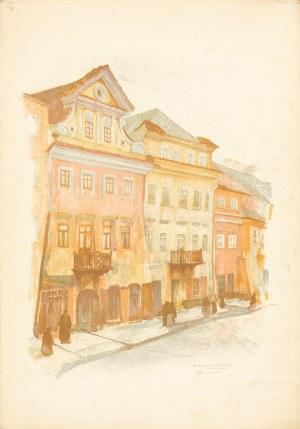 Gumowski Jan Kanty (1883-1946), Lublin. Domy przy ul. Szerokie, 1917