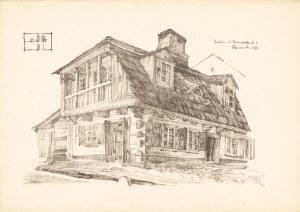 Gumowski Jan Kanty (1883-1946), Lublin. Dom przy ul. Krawieckiej 6, 1917