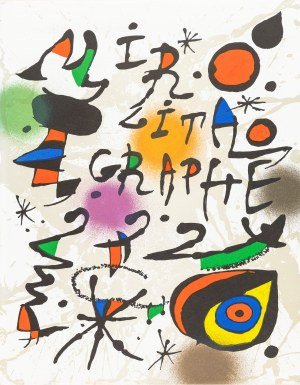 Miró Joan (1893-1983), Kompozycja III (wariant), 1972