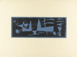 Stern Jonasz (1904-1988), Kompozycja (szaro-czarna), lata 50. XX w.