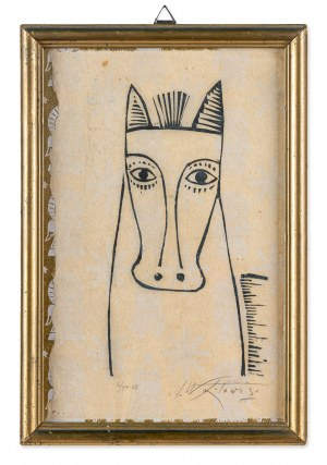 Wójtowicz Stanisław (1920-1991), Koń wrocławski, 1965