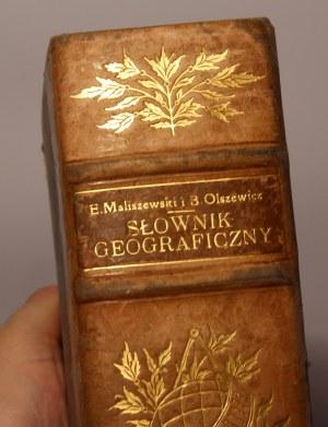 Maliszewski, Olszewicz Podręczny słownik Geograficzny o. Radziszewski Franciszek